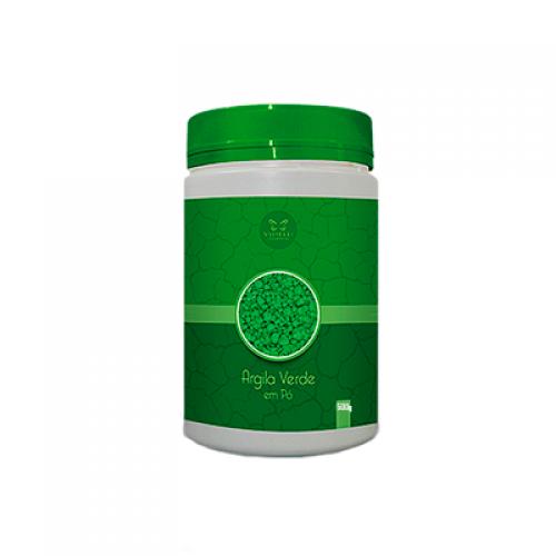 Argila Verde em Pó - 500g